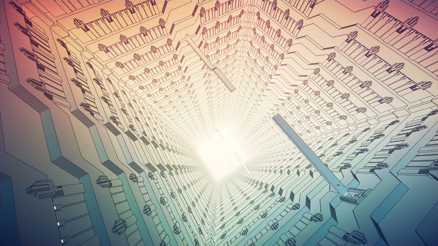 Newton in Escher's world. Manifold Garden 3 review