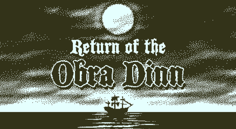 For the sake of such a gaming industry was worth it to exist. Return of the Obra Dinn review