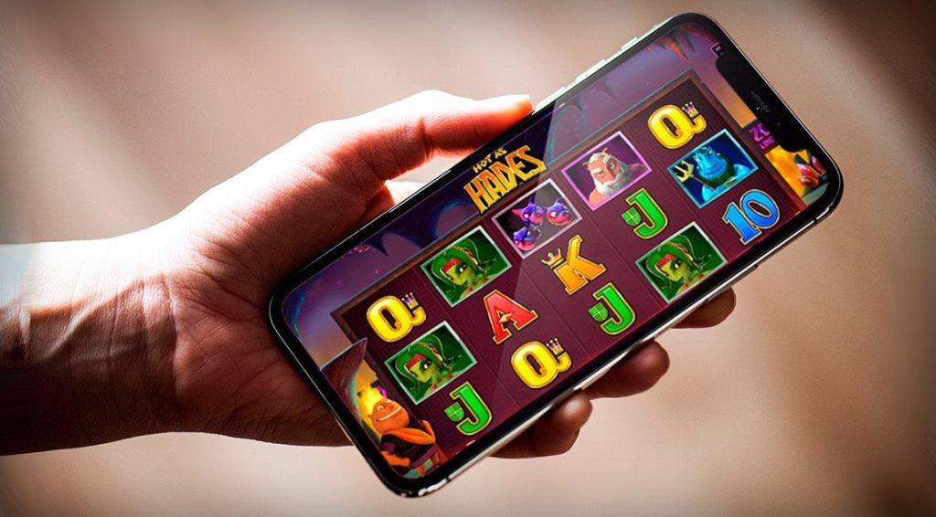 slot machines in a phone